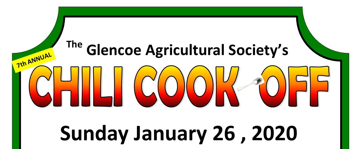Chilli cook off 2020 poster Ad